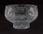 Image of : Glass Bowl - Engraved Ards F.C. v. Everton F.C.
