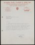 Image of : Letter from Accrington Stanley F.C. to Everton F.C.