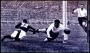 Image of : Photograph - Dixie Dean in action at the F.A. Cup Final