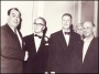 Image of : Photograph - Dixie Dean, John Moores, CBE, and Ted Sagar