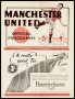Image of : Programme - Manchester United v Everton