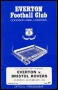 Image of : Programme - Everton v Bristol Rovers