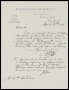 Image of : Letter from W. C. Cuff, Everton F.C., to H. P. Hardman