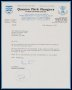 Image of : Letter from Queens Park Rangers F.A.C. to Everton F.C.