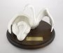 Image of : Ceramic Swans - presented by Shareholders on the 50th anniversary